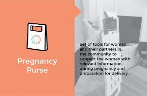 Pregnancy purse